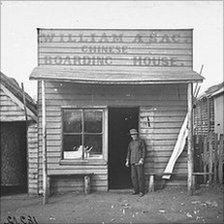 William A Sac's Chinese Boarding House, Gulgong, 1870-1875