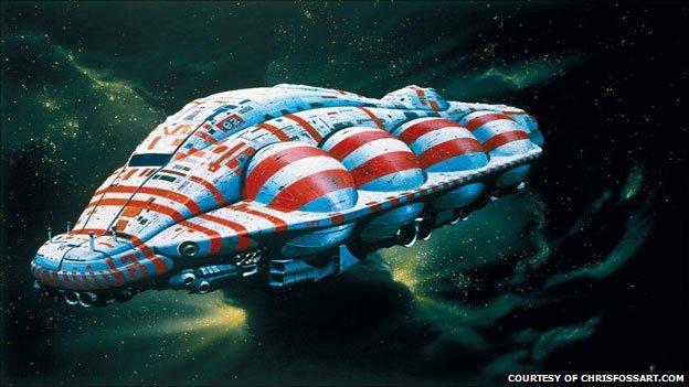 Chris Foss space illustration