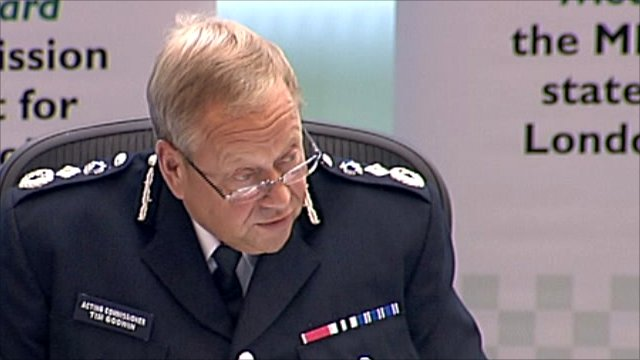 Acting commissioner Tim Godwin