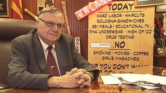 Photo: Sheriff Joe Arpaio
