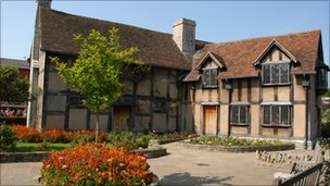 Shakespeare's birthplace in Henley Street, Stratford-upon-Avon