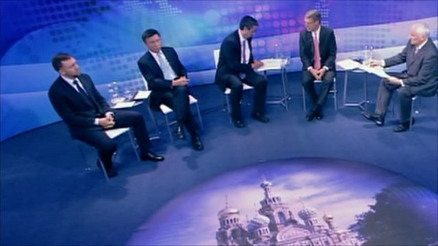 BBC World Debate St Peterburg