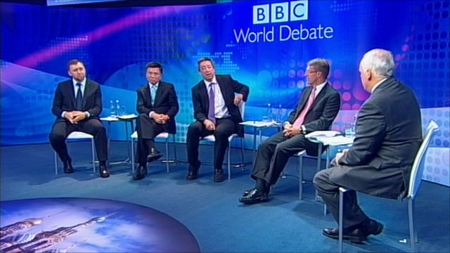 BBC World Debate in St Petersburg