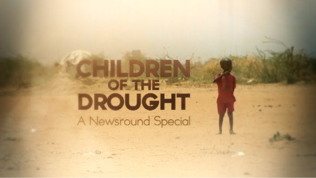Children of the Drought title slide