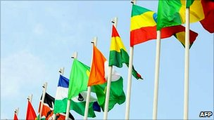Flags of African Union member states