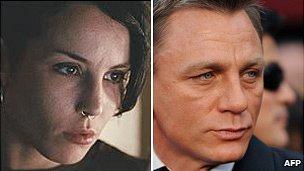 Noomi Rapace, Daniel Craig