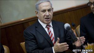 Israeli Prime Minister Benjamin Netanyahu.