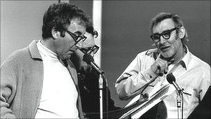 Peter Sellers and Spike Milligan