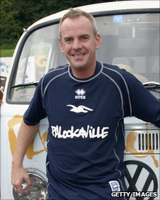 Brighton fan Norman Cook, aka Fatboy Slim