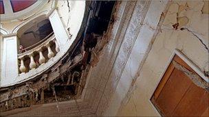 Moat Brae interior