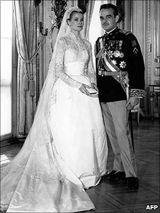 The wedding of Grace Kelly and Prince of Rainier
