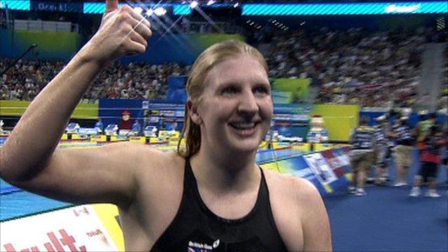 Double Olympic Rebecca Adlington