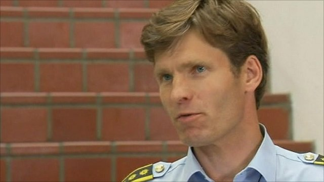 Police presecutor Paal-Fredrik Hjort Kraby