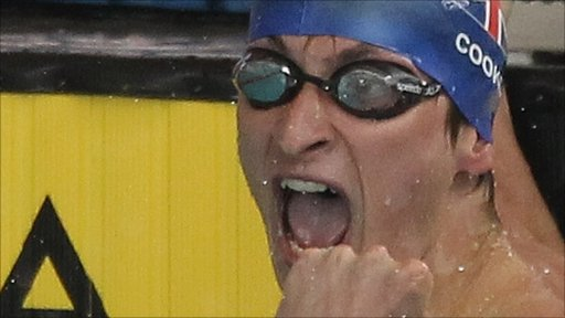 Jamie Cook qualifies for London 2012