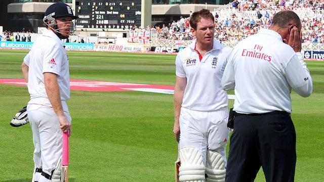 Ian Bell and Eoin Morgan