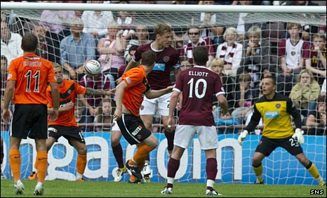 Jon Daly heads home