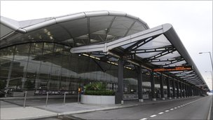 Hong Kong's Chek Lap Kok airport