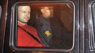 Anders Behring Breivik (25 July 2011)
