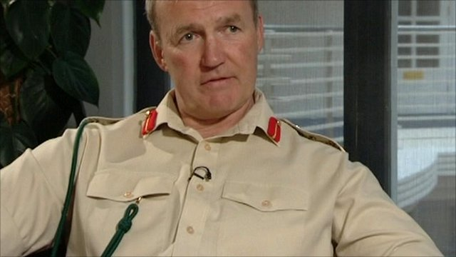 Vice Chief of the Defence Staff General Sir Nick Houghton