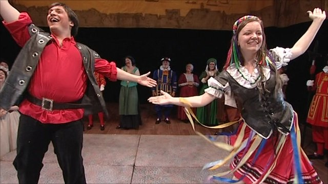 Gilbert and Sullivan festival in Buxton