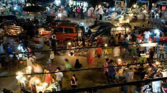 Ratchada Night Bazaar, Bangkok