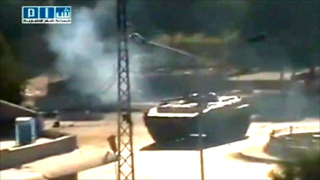 A tank in Syria