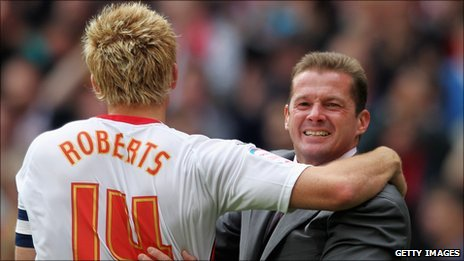Mark Roberts and Graham Westley