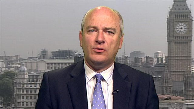 Armed Forces Minister, Nick Harvey