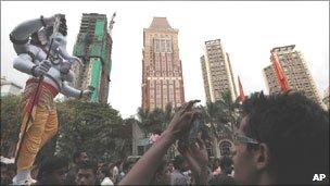 Ganesh Utsav festival in Mumbai