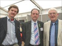Deri Tomos, Garry Nicholas a Guto Roberts