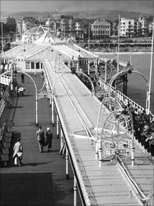 Brighton Palace Pier in 1938