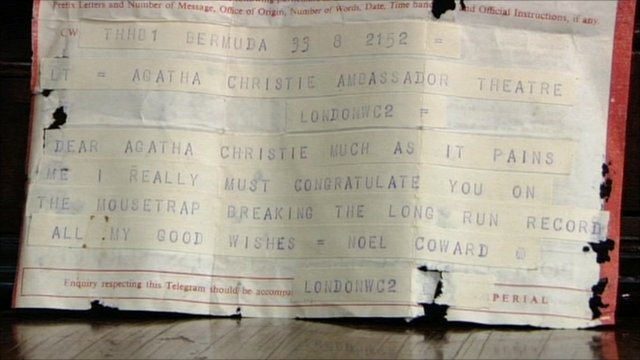 Noel Coward telegram