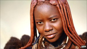 Himba woman, northern Namibia