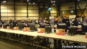 Electronic vote counting. Pic by Patrick McAleer and licensed under the Creative Commons Attribution-ShareAlike 2.5 License