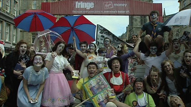 Comedians at Edinburgh Fringe