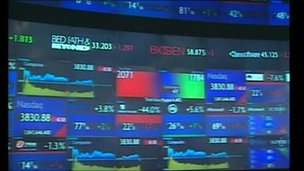 Stock exchange screenshot