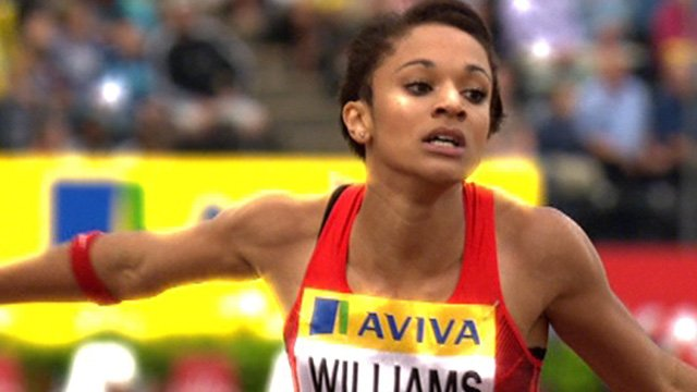 Britain's Jodie Williams