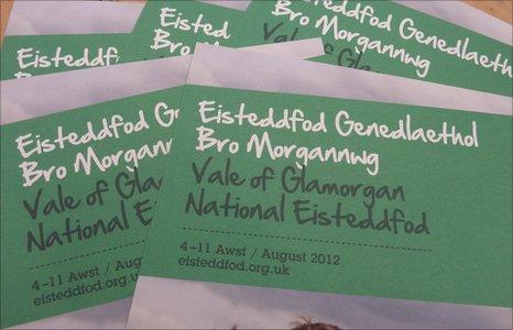 Hyrwyddo Eisteddfod Bro Morgannwg
