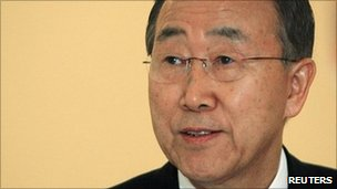 UN Secretary-General Ban Ki-moon (file image)