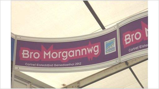 Arwydd Bro Morgannwg