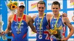 Alexander Bryukhankov, Alistair and Jonathan Brownlee
