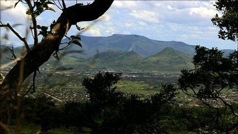 Marange region of Zimbabwe