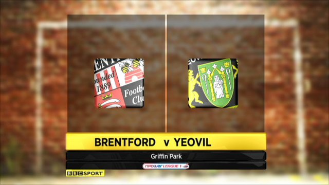 Brentford 2-0 Yeovil