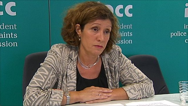 IPCC commissioner Rachel Cerfontyne
