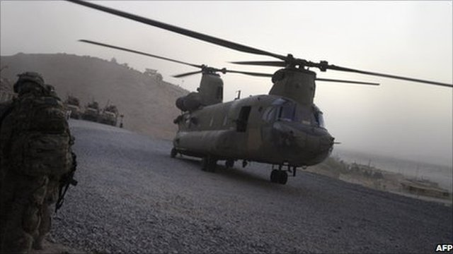 US military Chinook