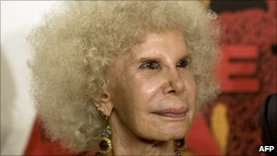 Duchess of Alba (file photo)