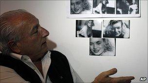 Memorabilia collector Mikel Barsa