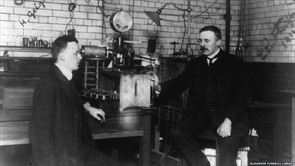 BBC News - In pictures: MOSI celebrates 100 years of Rutherford's atom