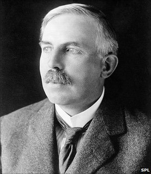 Ernest Rutherford (Image: Science Photo Library)