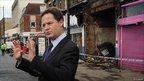 Nick Clegg in Tottenham
